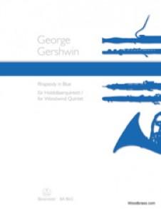 GERSHWIN G. RHAPSODY IN BLUES POUR QUINTETTE A VENT