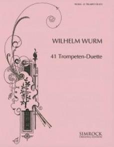 WURM W. 41 TRUMPET-DUETS TROMPETTES
