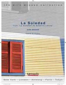 BROSSE D. LA SOLEDAD VIOLONCELLE