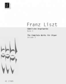 LISZT F. COMPLETE ORGAN WORKS VOL 3 ORGUE