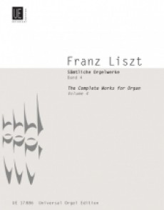 LISZT F. COMPLETE ORGAN WORKS VOL 4 ORGUE