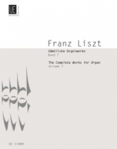 LISZT F. COMPLETE ORGAN WORKS VOL 7 ORGUE