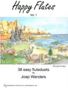 WANDERS J. HAPPY FLUTES VOL 1 DUOS