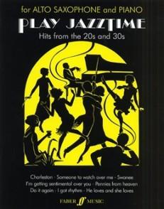 PLAY JAZZTIME SAXOPHONE ALTO