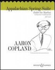 COPLAND A. APPALACHIAN SPRING SUITE SCORE
