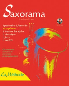 DELAGE J.L. SAXORAMA LA METHODE