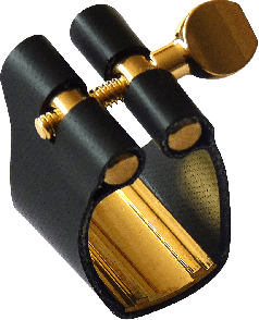 LIGATURE SAXOPHONE TENOR BRANCHER THR SEMI-RIGIDE POUR BEC EBONITE
