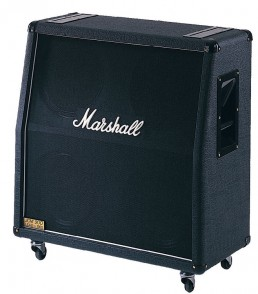 BAFFLE MARSHALL 1960AV PAN COUPE 280 WATTS 4X12""