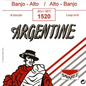 JEU DE CORDES ARGENTINE 1520 BANJO/ALTO