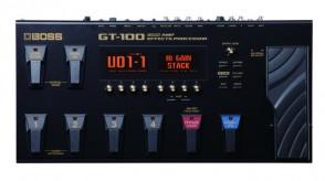BOSS GT-100 MULTI-EFFETS