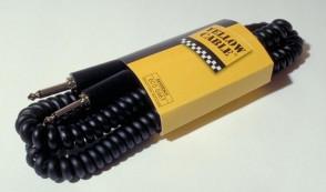 CORDON JACK YELLOW CABLE ERGOFLEX G66T