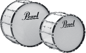 MARCHING BAND PEARL COMPETITOR 24X14 BLANC