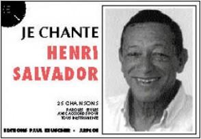 SALVADOR HENRI JE CHANTE