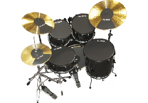 VIC FIRTH SOURDINESPACK FUSION 22 + 2 CYMBALES