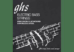 JEU DE CORDES BASSE GHS 3025 STRINGS DOUBLE BOULE STAINLESS STEEL