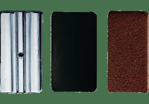LIGATURE CLARINETTE VANDOREN PLAQUETTES DE PRESSION MIB CUIR X3