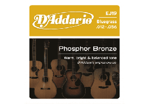 JEU DE CORDES ACOUSTIQUE D'ADDARIO EJ19 PHOSPHORE BRONZE 12/56
