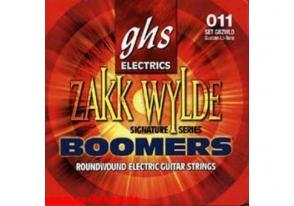 JEU DE CORDES ELECTRIQUE GHS STRINGS GBZWLO BOOMERS FILE ROND 11/70