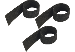 K&M SERRE CABLE VELCRO PACK DE TROIS - 21403