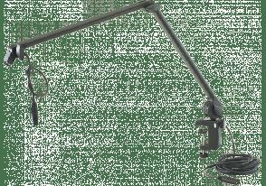 K&M PIED DE TABLE ARTICULE AVEC XLR - 23860
