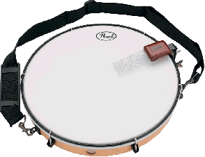 TAMBOURIN PEAL THE HIP KIT TIMBRE + SANGLE