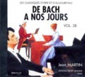 DE BACH A NOS JOURS VOL 2B PIANO CD
