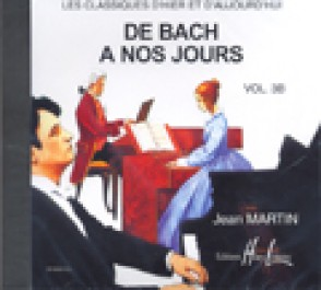 DE BACH A NOS JOURS VOL 3B PIANO CD