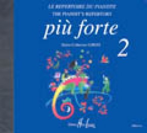 PIU FORTE 2 REPERTOIRE DU PIANISTE CD