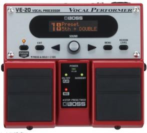 BOSS VE-20 HARMONISER VOCAL