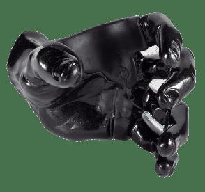 SUPPORT MURAL GUITAR GRIP GS1 CUSTOM GUITAR HANGERS BLACK PEARL
