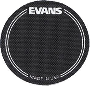 EVANS PATCH GROSSE CAISSE SIMPLE BATTE X2