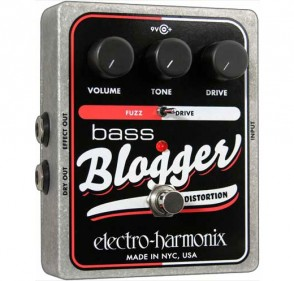 ELECTRO-HARMONIX BASS BLOGGER OVERDRIVE/DISTORTION