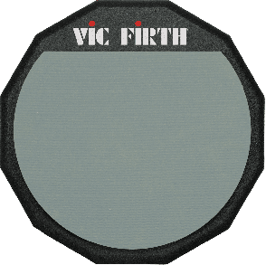 ACCESSOIRE VIC FIRTH PRACTICE PADS 12