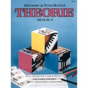 BASTIEN J. METHODE DE PIANO: THEORIE NIVEAU 2