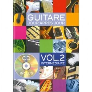 DESGRANGES B. GUITARE JOUR APRES JOUR VOL 2 GUITARE CD DVD