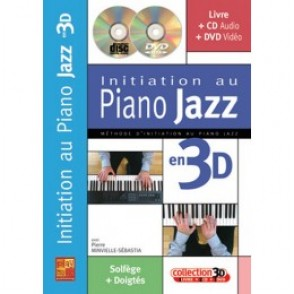 MINVIELLE-SEBASTIA P. INITIATION AU PIANO JAZZ