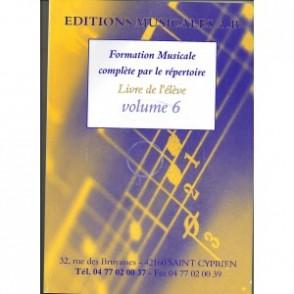 FAZZARI FORMATION MUSICALE PAR LE REPERTOIRE VOL 6
