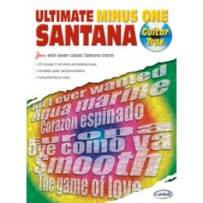 SANTANA C. ULTIMATE MINUS ONE GUITARE