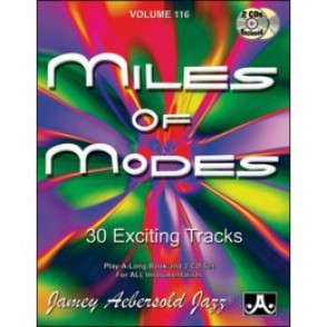 AEBERSOLD VOL 116 MILES OF MODES