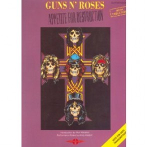 GUNS N'ROSES APPETITE FOR DESTRUCTION GUITARE