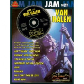 VAN HALEN JAM WITH GUITARE