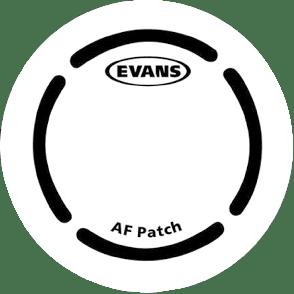 EVANS PATCH GROSSE CAISSE SIMPLE BATTE FIBRE ARAMIDE X2