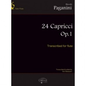 PAGANINI N. CAPRICES OP 1 FLUTE