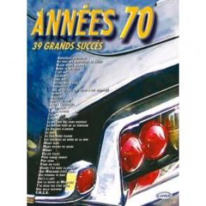 ANNEES 70 PIANO VOCAL GUITARE