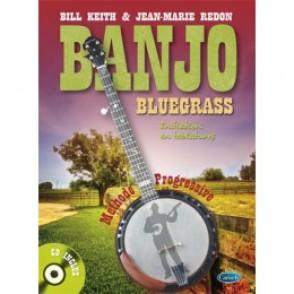 KEITH B./REDON J.M. BANJO BLUEGRASS A 5 CORDES