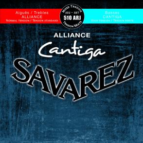 JEU DE CORDES GUITARE CLASSIQUE SAVAREZ 510-ARJ