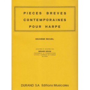PIECES BREVES CONTEMPORAINES VOL 2 HARPE
