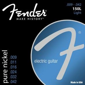 JEU DE CORDES GUITARE FENDER PURE NICKEL 150L LIGHT 09/42