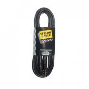 CABLE MICROPHONE YELLOW CABLE M05J