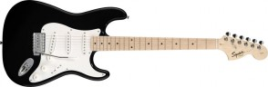 SQUIER AFFINITY STRATOCASTER BLACK MAPLE